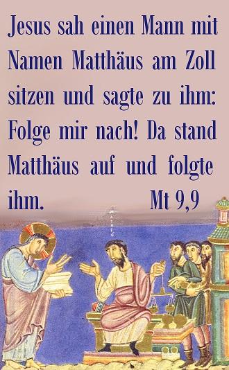 Berufung Matthäus