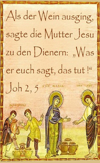 Joh 2 1 12 Hochzeit Zu Kana