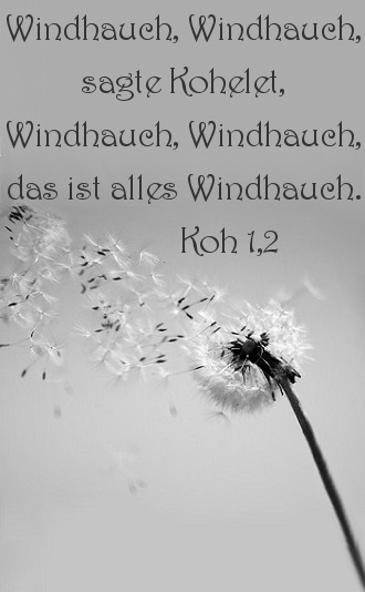Kohelet - Windhauch